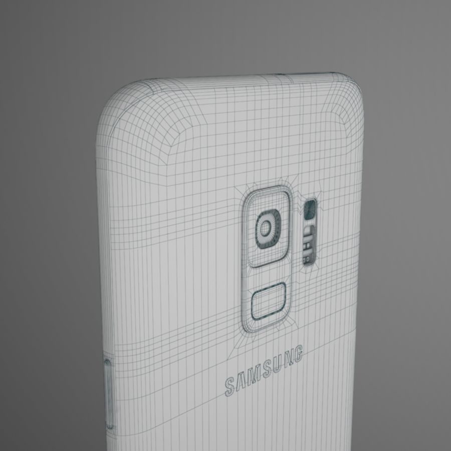 Samsung Galaxy S9 royalty-free 3d model - Preview no. 15