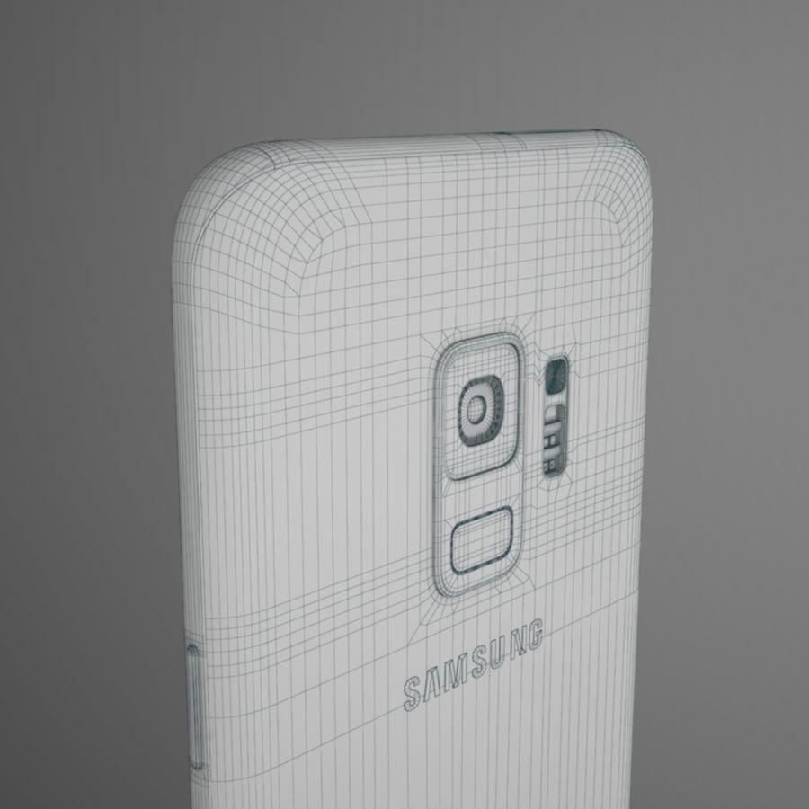 삼성 갤럭시 S9 royalty-free 3d model - Preview no. 15