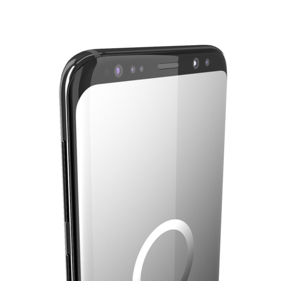 Samsung Galaxy S9 royalty-free 3d model - Preview no. 5