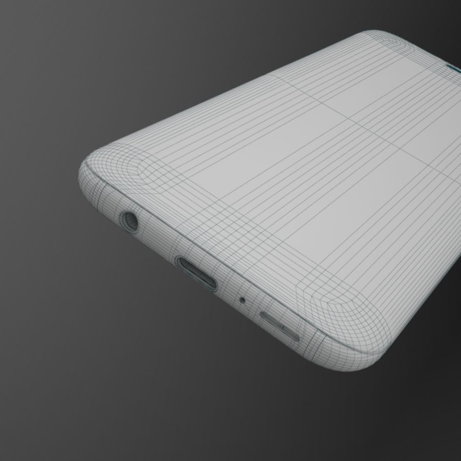 Samsung Galaxy S9 royalty-free 3d model - Preview no. 17