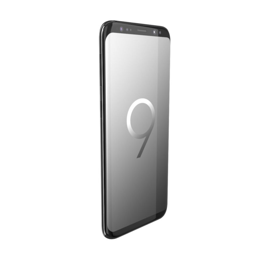 Samsung Galaxy S9 royalty-free 3d model - Preview no. 4