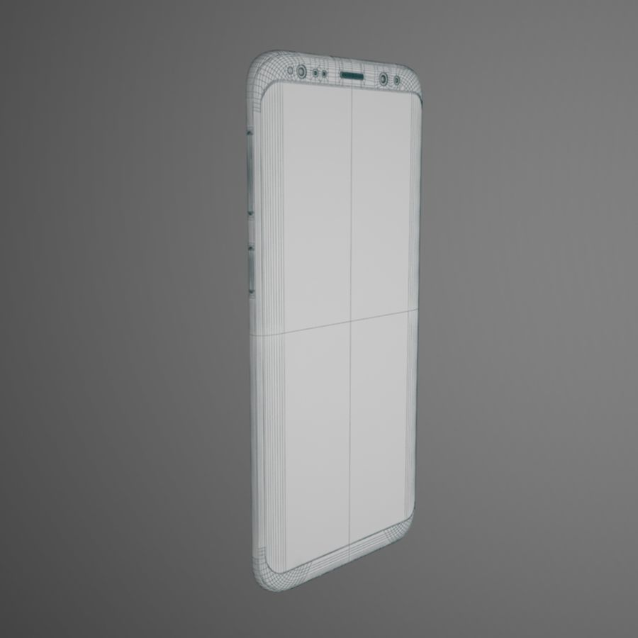 Samsung Galaxy S9 royalty-free 3d model - Preview no. 13
