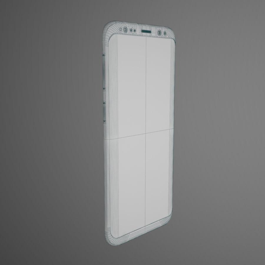 삼성 갤럭시 S9 royalty-free 3d model - Preview no. 13