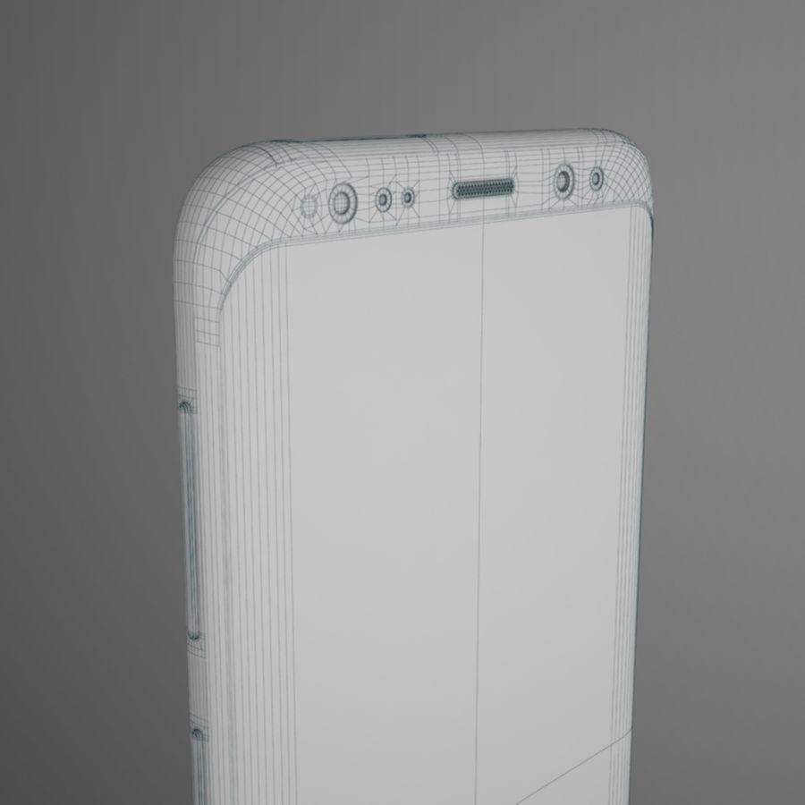삼성 갤럭시 S9 royalty-free 3d model - Preview no. 16