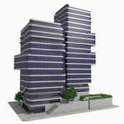 Modern Office City Building Block 1 - Futuristic Architecture 3d model