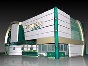 Expo Stand ADM V3 3d model