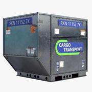 Airport Cargo Container 3d model