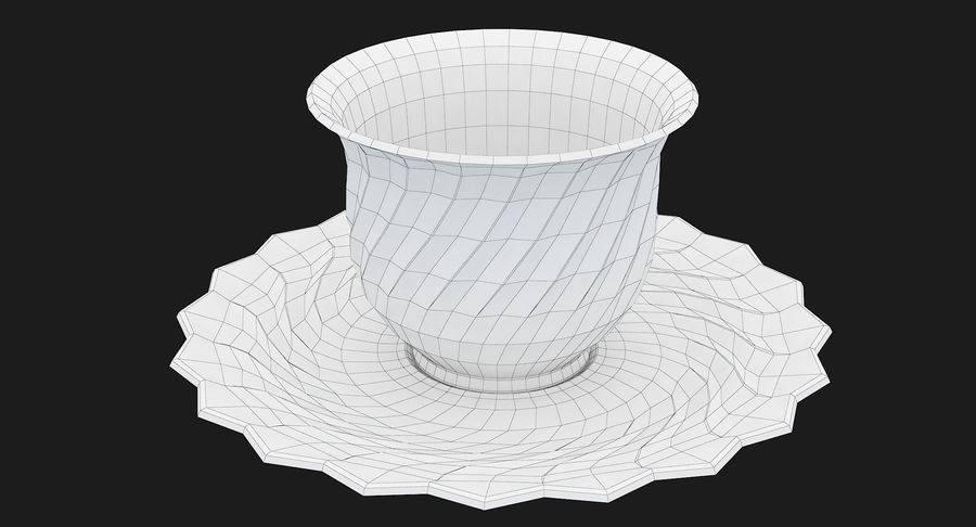 Tumbler A Collection royalty-free 3d model - Preview no. 68