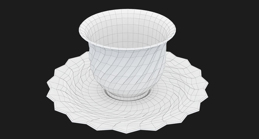 Tumbler A Collection royalty-free 3d model - Preview no. 59