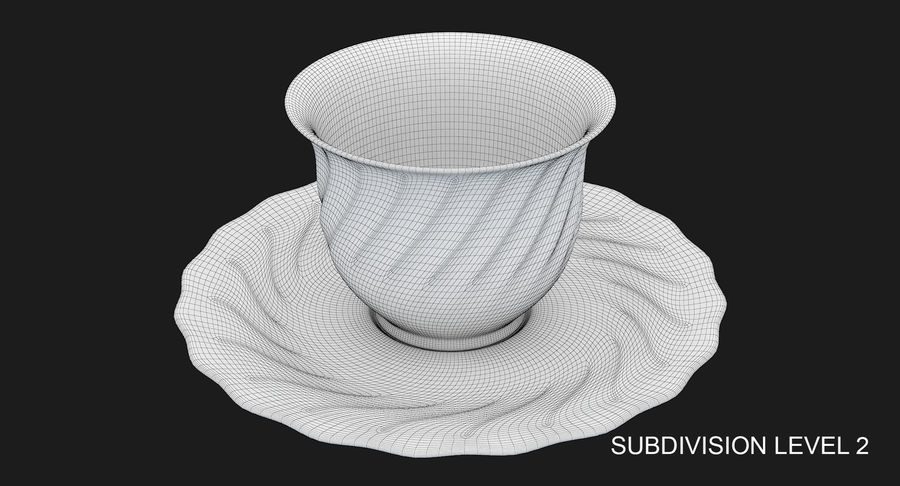Tumbler A Collection royalty-free 3d model - Preview no. 54