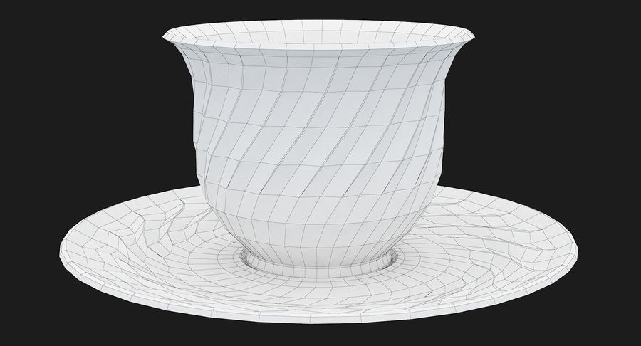 Tumbler A Collection royalty-free 3d model - Preview no. 44
