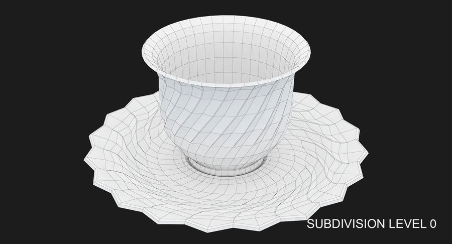 Tumbler A Collection royalty-free 3d model - Preview no. 53