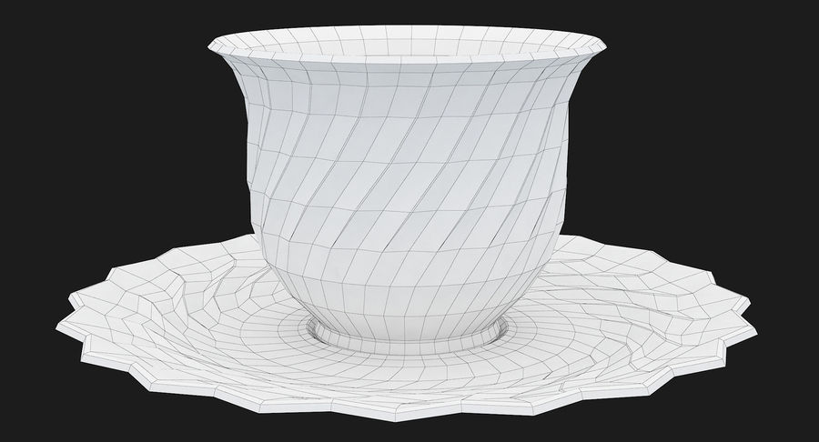 Tumbler A Collection royalty-free 3d model - Preview no. 60