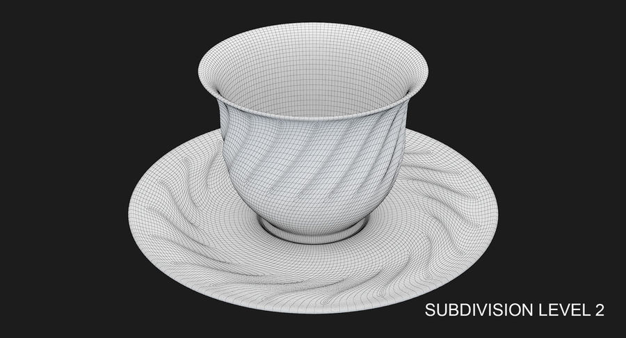 Tumbler A Collection royalty-free 3d model - Preview no. 38