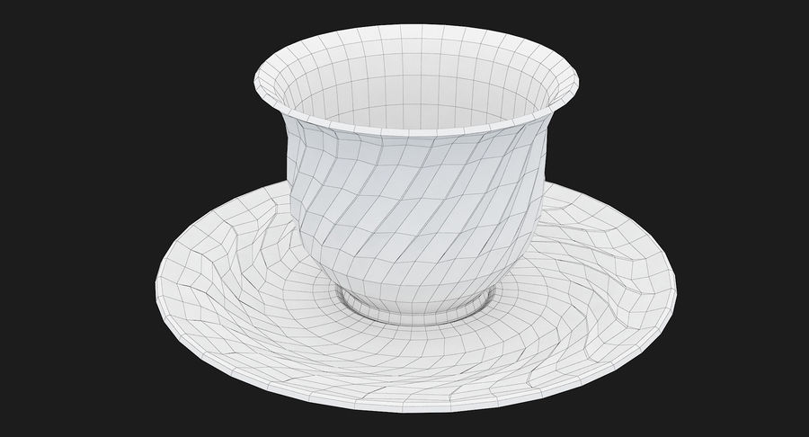 Tumbler A Collection royalty-free 3d model - Preview no. 52