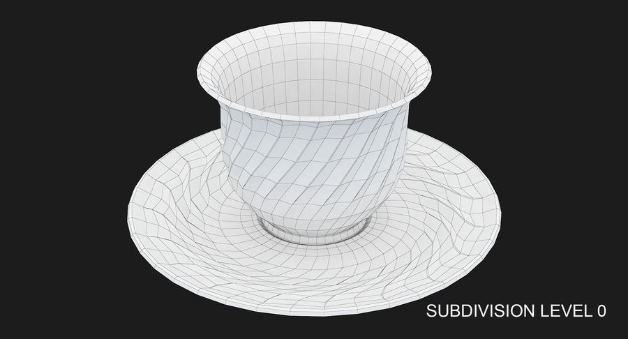 Tumbler A Collection royalty-free 3d model - Preview no. 37