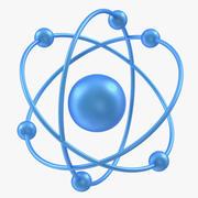 Orbital Model of Atom 3d model