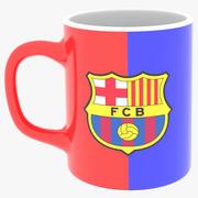 Barca FC Kulübü 3d model