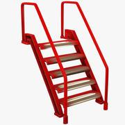 金属楼梯V2 3d model