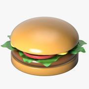 Toy Hamburger 3d model