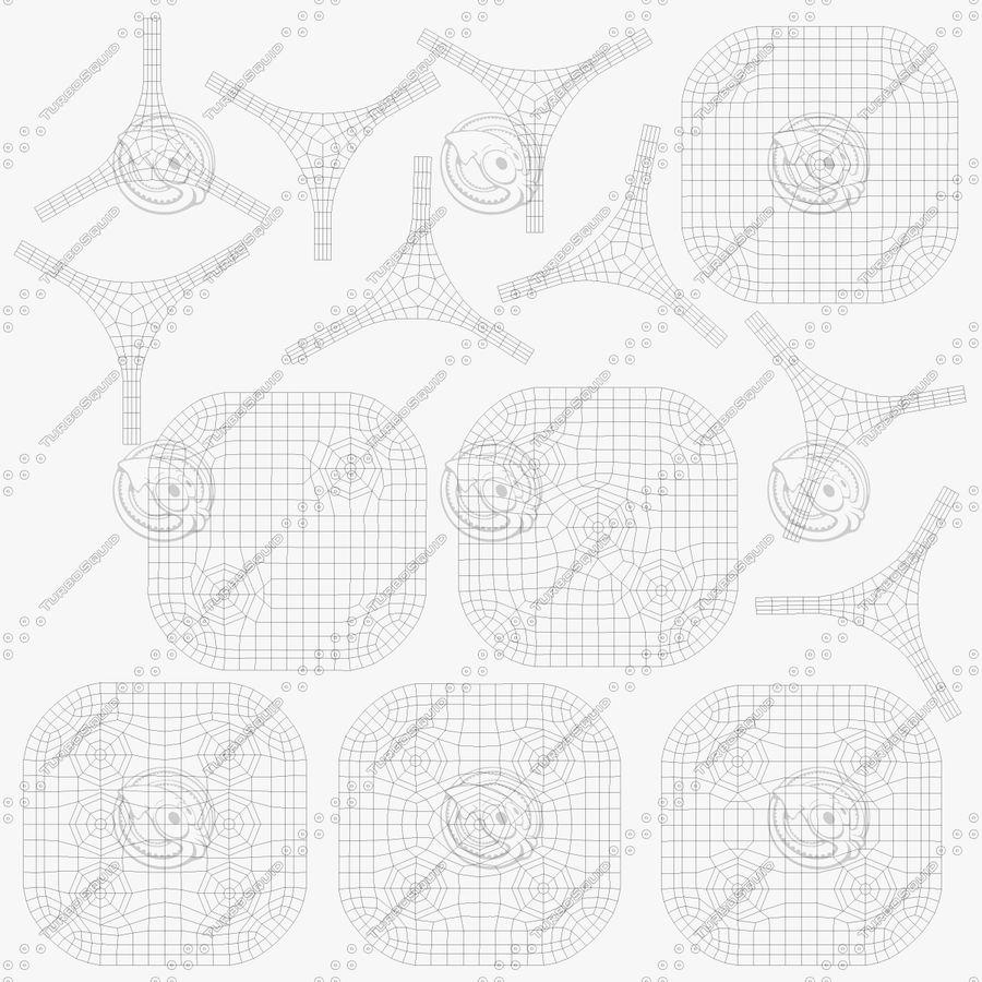 Zar royalty-free 3d model - Preview no. 10