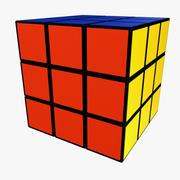Cubo de rubik modelo 3d