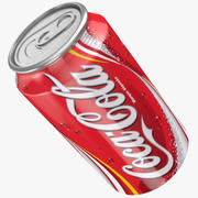 Кока может 3d model