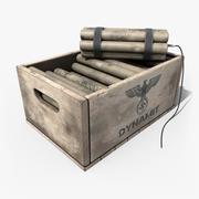 Dynamite Box 3d model
