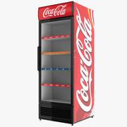 Coca Cola Single Door Display Refrigerator 3d model