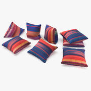 Cushions 02 3d model