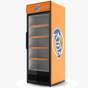 Fanta koelkast 3d model