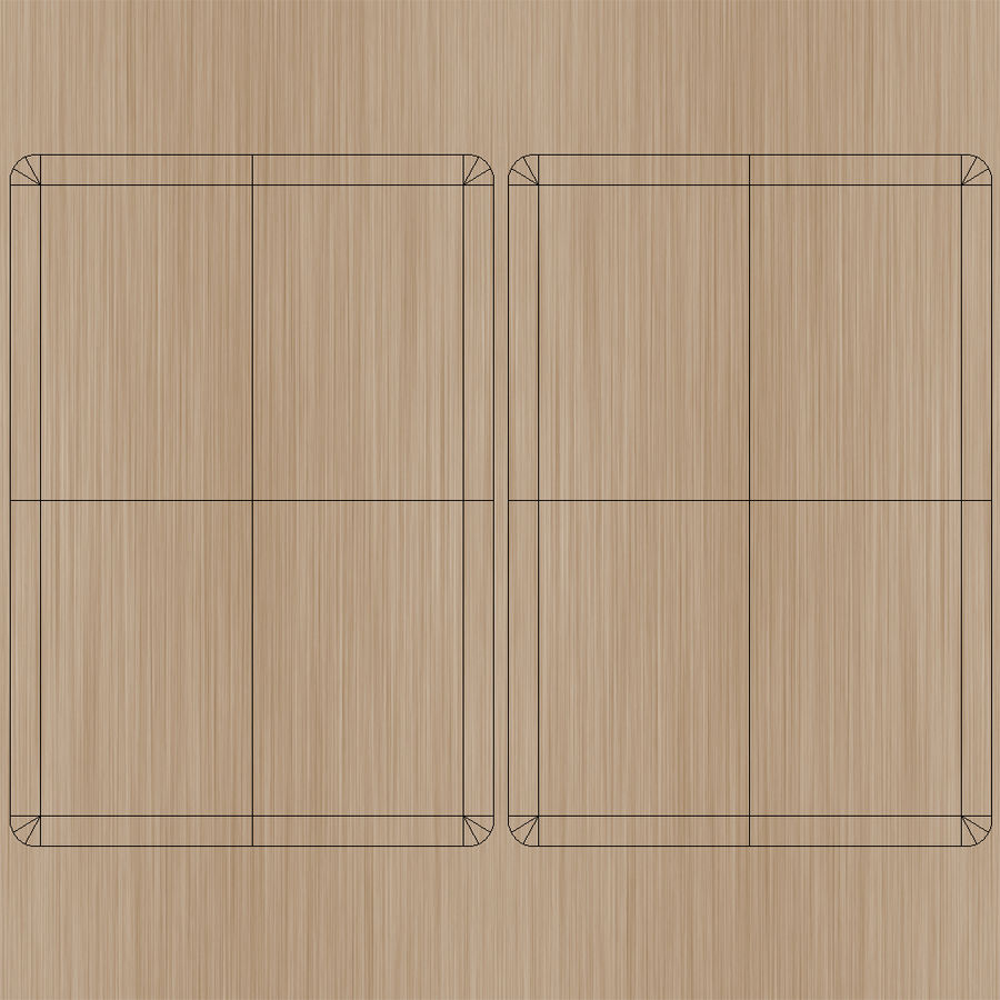 Folding Table royalty-free 3d model - Preview no. 16