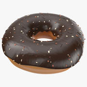 Donut Brown 3d model