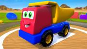 Truck Cartoon Toy Vehicle 3d model