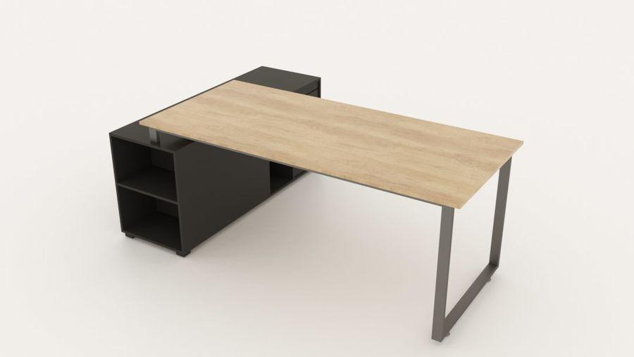 Diseño de oficina minimalista de lujo royalty-free modelo 3d - Preview no. 2