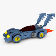 Lego Batmobile 3d model