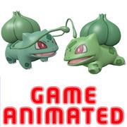 포켓몬 Bulbasaur 애니메이션 게임 이미 모델 3d model