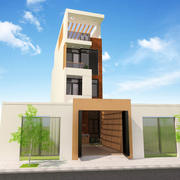 Residential Building 3d model