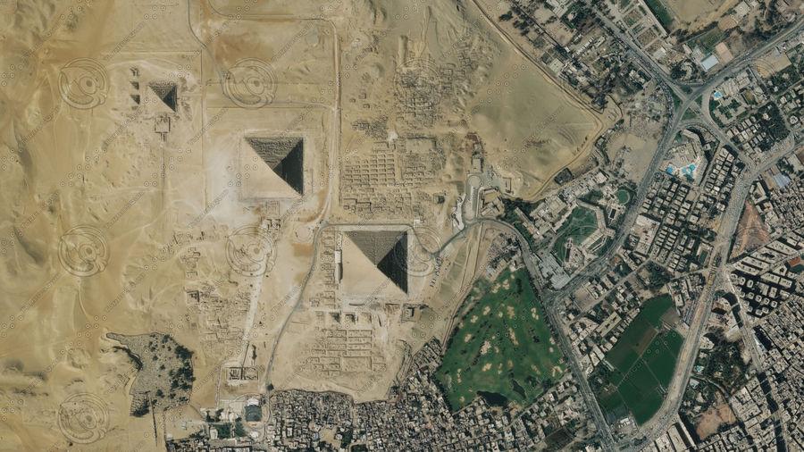 Terreno del área de la meseta de Giza royalty-free modelo 3d - Preview no. 7