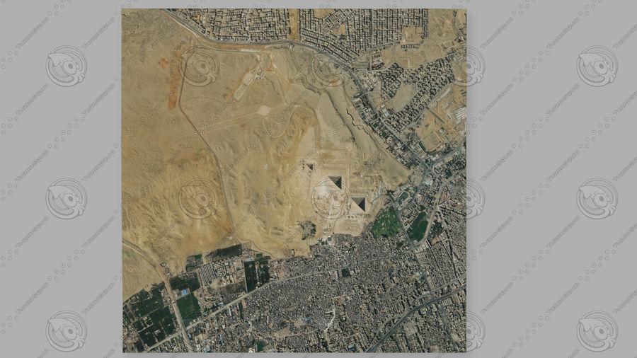 Terreno del área de la meseta de Giza royalty-free modelo 3d - Preview no. 6