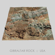 Gibraltar Rock Valley of Fire Terrain 3d model