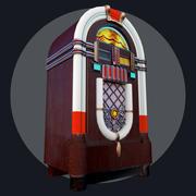 Juke box 3D model 3d model