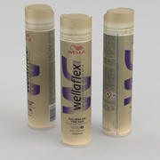 Cosmetics Wella Wellaflex Hairspray Strong 250ml 3d model