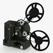 프로젝터-Heurtier Tri-film 3d model