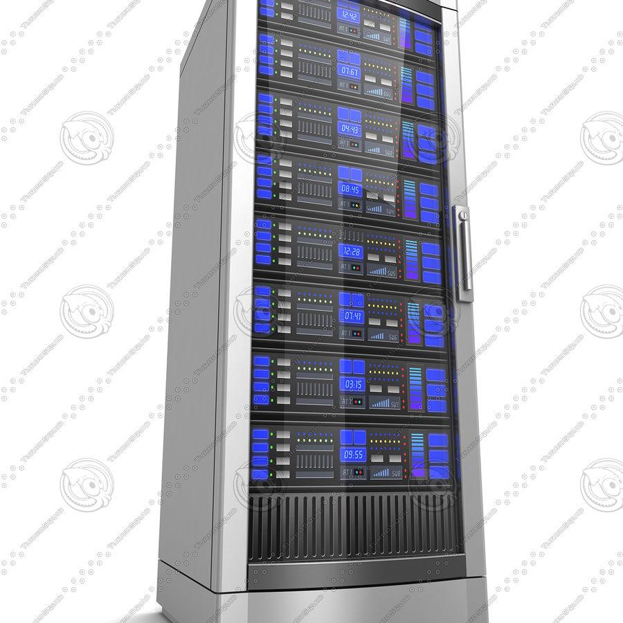 Serwery sieciowe royalty-free 3d model - Preview no. 10