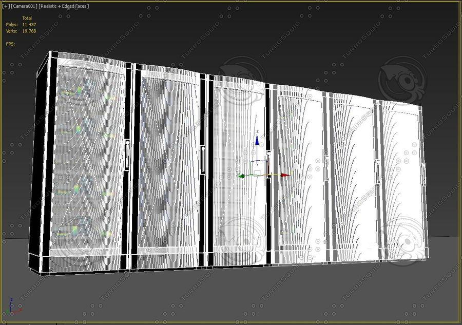 Serwery sieciowe royalty-free 3d model - Preview no. 5
