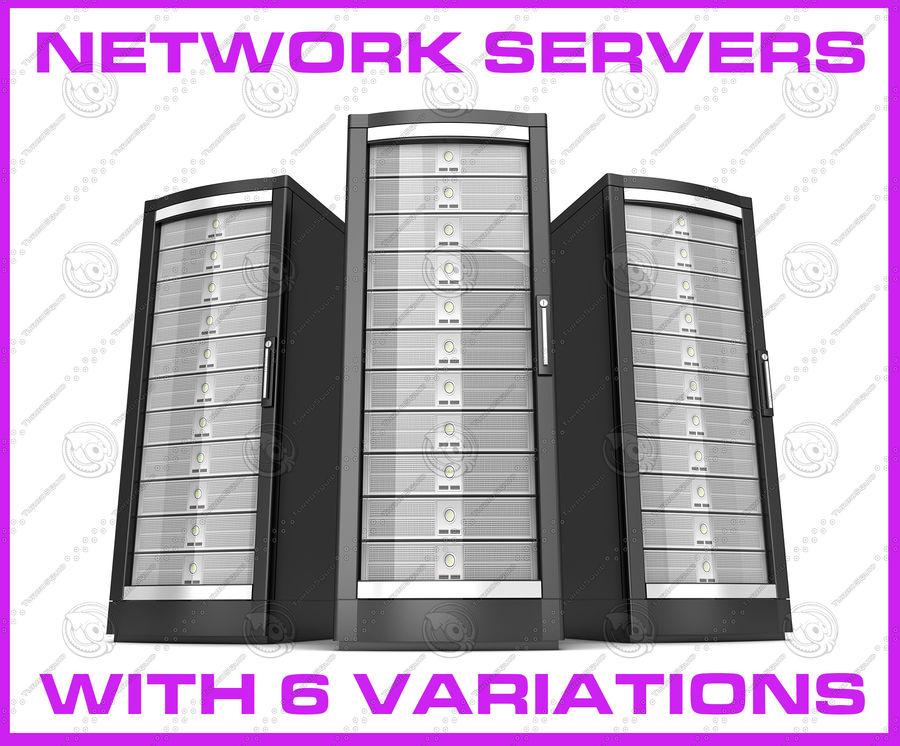 Serwery sieciowe royalty-free 3d model - Preview no. 1