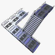 Sci fi merdiven 3d model
