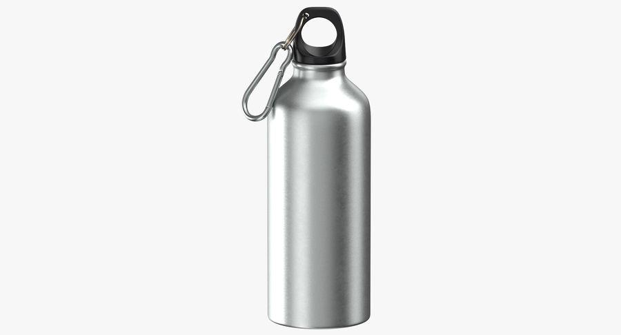 Aluminium Bottle Size 01 royalty-free 3d model - Preview no. 2