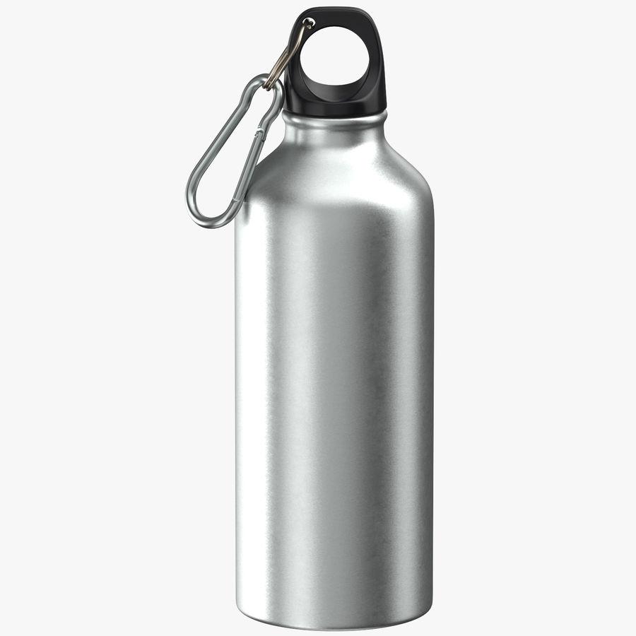 Aluminium Bottle Size 01 royalty-free 3d model - Preview no. 1